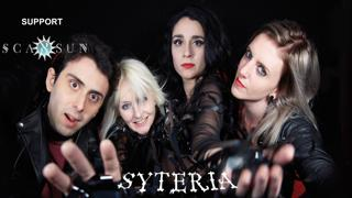 Syteria + Special Guests: Adam And The Hellcats with support from Scarsun, Dark Valley & And The Sky Darkened
