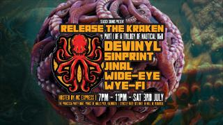 Release The Kraken - Seasick Sounds D&B Boat Party