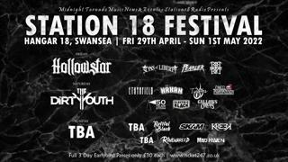 Station 18 Festival - Live at Hangar 18 Music Venue - Swansea
