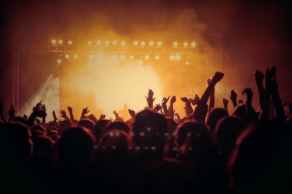 concert, live, audience